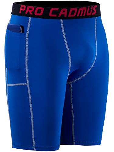 Cadmus Men's Performance Workout Compression Shorts