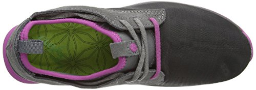 Cushe Shakra Damen Sneaker Grau (Charcoal/Mauve)