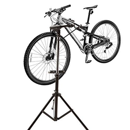 XLITA Bike Repair Stand Adjustable Height, Foldable and Portable with Tool Tray Suitable for Off-Road,Travel and Other Occasions Needing Repair