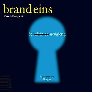 brand eins audio: Neugier Audiomagazin