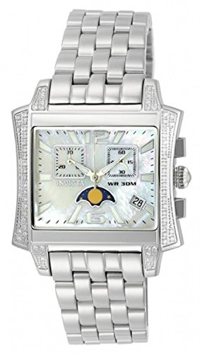 Invicta 22689 Womens Elite Diamond Quartz Mother Of Pearl Dial Stainless Steel Bracelet Watch