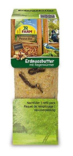 JR Garden pbar Beurre d'arachide lumbricidae 350g JR Farm