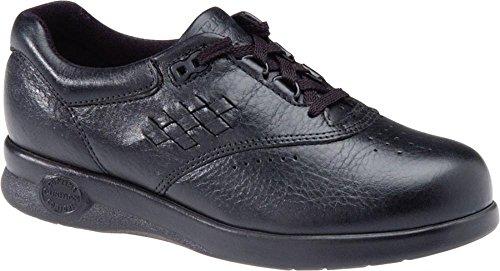Softspots Women's Supremes Marathon Walking Shoes, Black, 9 W/D-E Wide