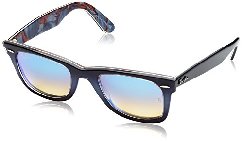 Ray-Ban WAYFARER - TOP GRAD GREY ON BLUE Frame MIRROR GRADIENT BLUE Lenses 50mm - Sunglasses Ray Mirror Wayfarer Ban