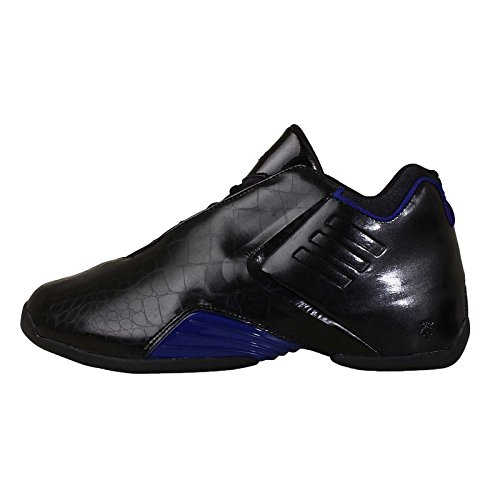Adidas Men's TMAC 3, CBLACK/CROYAL/CBLACK, 8.5 M US