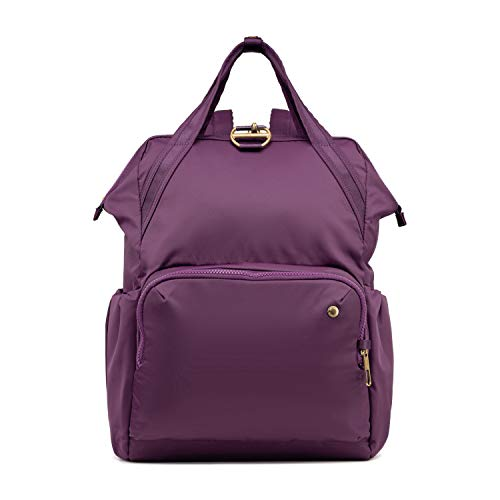 PacSafe Women's Citysafe CX 17L Anti Theft Backpack-Fits 13 inch Laptop, Dahlia
