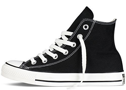 Zapatillas De Entrenamiento Chuck Taylor Chucks Para Mujer Converse All Star Hi High Top - Negro - 5.5