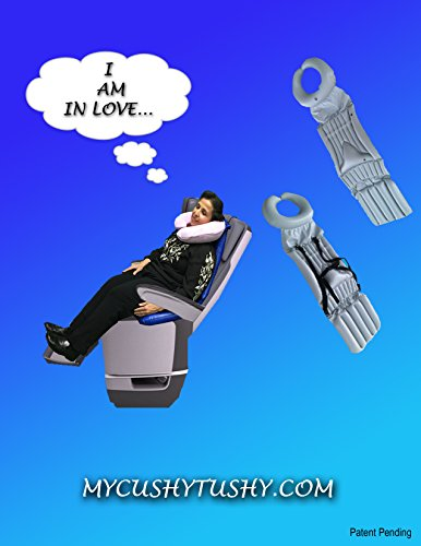 Full Body Cushion - My Cushy Tushy - Seat Cushion Supports Neck, Chin, Lumbar, Back, Buttocks. Air Filled Support Columns, Impressive Pain Relief, Ultimate Comfort, Revolutionary Patent Pending Design