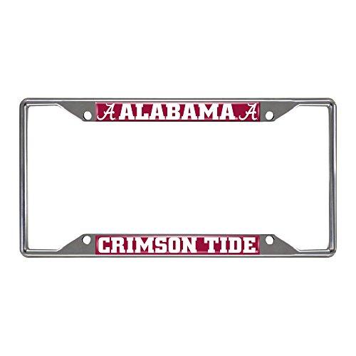- SLS Alabama Crimson Tide Colored Metal License Plate Frame