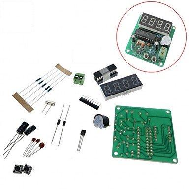 para Kits Arduino 4 Pedazos Digital llevó la Serie electrónica de la producción del Reloj Kits DIY fijados: Amazon.es: Electrónica