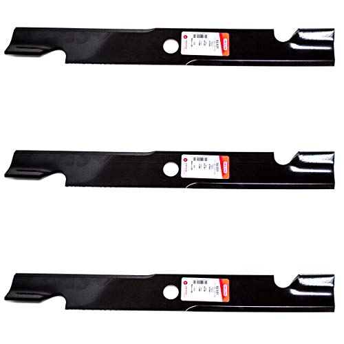 3PK Oregon Mower Replacement Blades for Exmark 103-6403-S 60