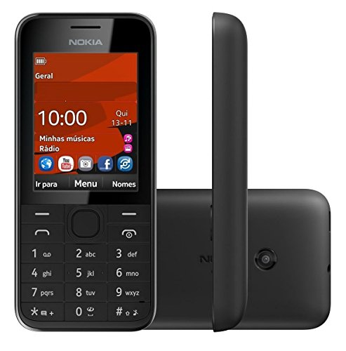 Unlocked Nokia 208 Dual Card Dual Standby Ultra-long Stan...