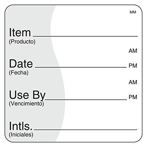 DayMark Use by Removable Label, 2'' x 2'' (Roll of 500) by DayMark Safety Systems