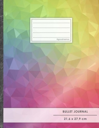 "Bullet Journal • A4-Format, 100+ Seiten, Soft Cover, Register, ""Regenbogen"" • Original #GoodMemos Dot Grid Notebook • Perfekt als Tagebuch, Zeichenbuch, Kalligraphie Buch Taschenbuch – Großdruck, 19. August 2017 GoodMemos Notebooks Bullet Journal Ideas 19"