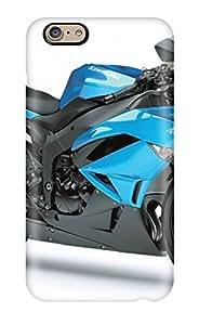 Hot Design Premium YDeriSY1913CkDnQ Tpu Case Cover Iphone 6 Protection Case(kawasaki Ninja Zx 6r Blue Motorcycle)