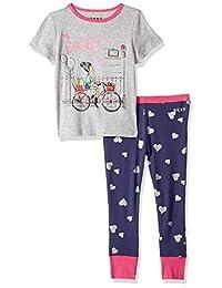 ecfa0cd6ee DKNY Conjunto de Pijama y Playera Estampada para niñas