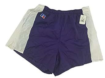 Women's Dri-Power Track Short (X-Large, Purple w/ White)