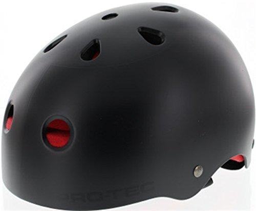 Pro-Tec Hosoi Classic Skate[X-Small] Black Helmet (CPSC) -