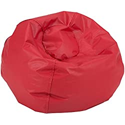 Sprogs SPG-610-079-SO Round Bean Bag Chair, Red