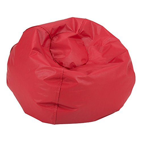 (Sprogs SPG-610-079-SO Round Bean Bag Chair, Red)