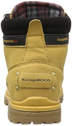 KangaROOS Jungen Kangaoutboots 2034 Biker Boots Beige (tan 170)