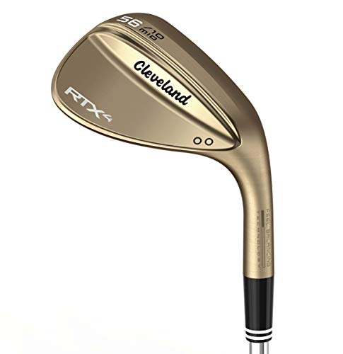 Cleveland Golf Men's RTX 4 Wedge, Raw Finish