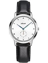 a.b.art FG36-101-1L Blue Hand Sun-ray Dial Wrist Watch for women
