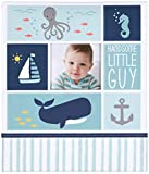 C.R. Gibson First 5 Years Loose Leaf Memory Book, by Carter's, Record Memories and Milestones on 64 Beautifully Illustrated Pages - Under The Sea
