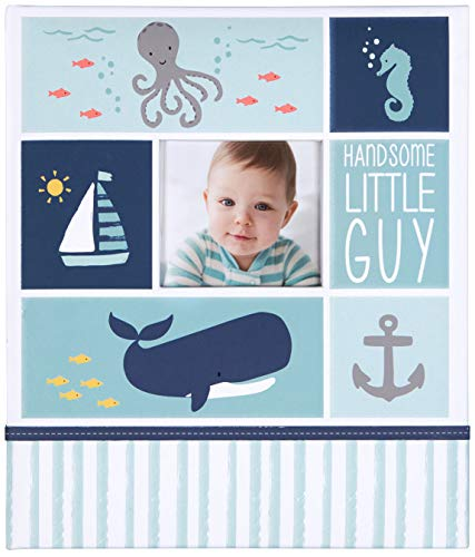- C.R. Gibson First 5 Years Loose Leaf Memory Book, by Carter's, Record Memories and Milestones on 64 Beautifully Illustrated Pages - Under The Sea