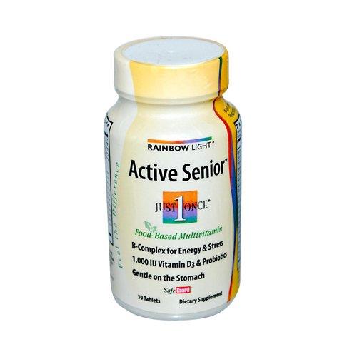 (Rainbow Light Active Senior Multi 30 tab ( Multi-Pack) )