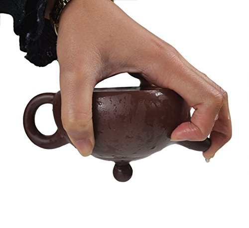 Yixing Clay - Chinese Yixing Purple Clay Handmade Half Moon Tea Pot Zisha Zi Ni Teapot 200cc
