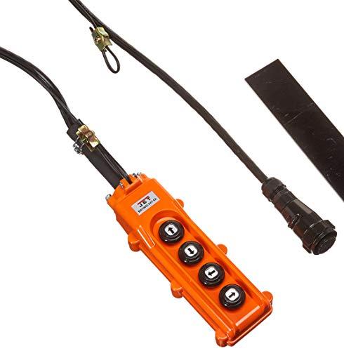 Jet Tools Jet Systems PBC-410CN, SS 4 Button Control Pendant 10' Lift Hoist & Trolley (152411)