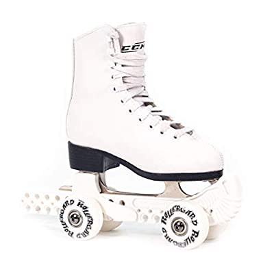 Rollergard ROC-N Figure Skate Rolling Guard, White, Model:ROC376WH: Toys & Games