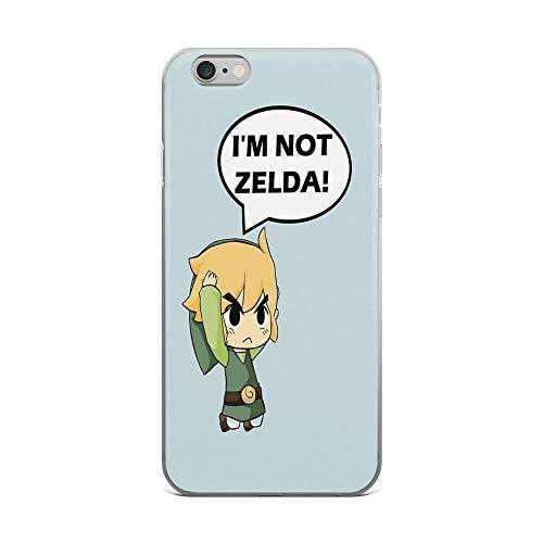 iPhone 6 Plus/iPhone 6s Plus Case Clear Anti-Scratch I'm Not Zelda Cover Phone Cases for iPhone 6 Plus iPhone 6s Plus]()