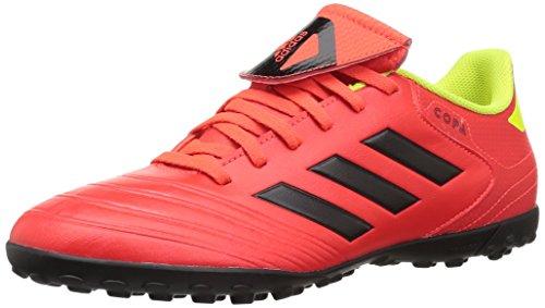 newest collection c1d4e 67f41 adidas Mens Copa Tango 18.4 Turf Soccer Shoe, redBlackSolar Yellow, 11.5  M US