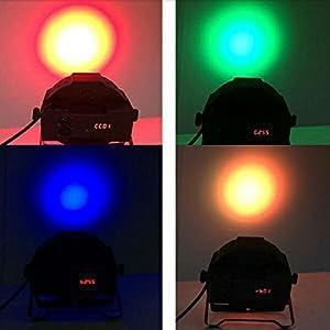 41hS%2Bg6hkmL. SS300  - LED-PAR36W-36LEDs-RGB-7-Beleuchtung-Modi-Disco-Lichteffekte-dj-party-Licht-Bhnenbeleuchtung-led-scheinwerfer-Fernbedienung-DMX-Steuerung-Discolicht-fr-DJ-KTV-Disco-Party