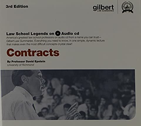 Law School Legends Audio on Contracts (Law School Legends Audio Series) (Legend Audio)