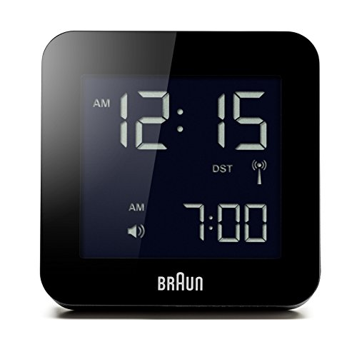 Braun BNC009BK-RC Digital Quartz Alarm