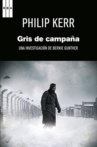 Portada del libro Gris de campaña de Philip Kerr