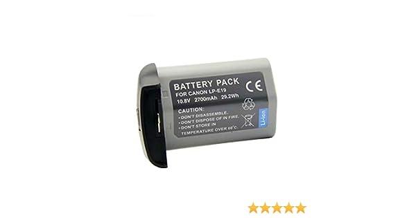 1DS Mark 3,1D Mark 3,1D Mark 4 Meiyiu LP-E19 Full Decoded Battery for Canon LP-E4 LP-E4N LPE4N EOS 1DX Mark 2 1DX