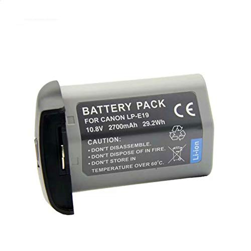 Leoie LP-E19 Full Decoded Battery for Canon LP-E4 LP-E4N LPE4N EOS 1DX Mark 2, 1DX, 1DS Mark 3,1D Mark 3,1D Mark 4