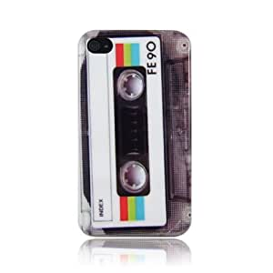 Design Series 004 Cassette Hard Plastic Case for Iphone 4 & 4s by ruishername