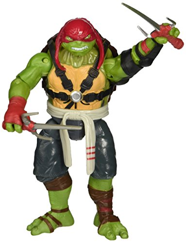 Teenage Mutant Ninja Turtles Movie 2 Out Of The Shadows Raphael Deluxe Figure