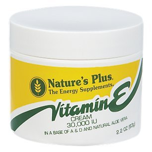 Nature's Plus Vitamin E Cream – 2.2 oz For Sale