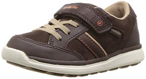 Brown Boys Sneakers - Stride Rite Boys' Made 2 Play Cory Sneaker, Brown, 11 M US Little Kid