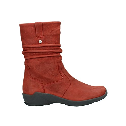 Wolky Comfort Boots Luna 11542 Winter Red Nubuck