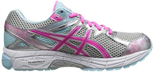 Asics Mujeres Gt-1000 3 Running Shoe Lightning / Hot Pink / Mint