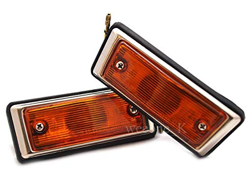 K1AutoParts 1 Pair Side Marker Indicator Turn Signal Light For Toyota Hilux RN20 1972-1978