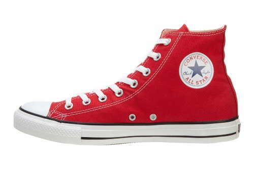 Converse Unisex Chuck Taylor All Star Hallo Top Sneaker rot