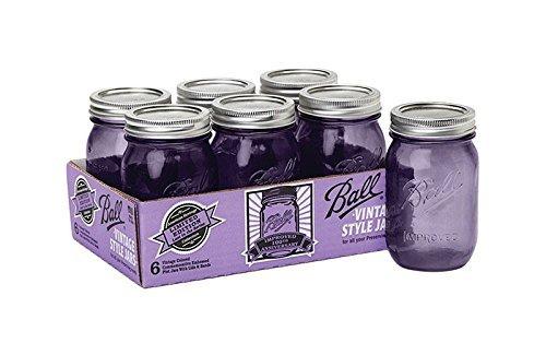 purple ball jars heritage - 3